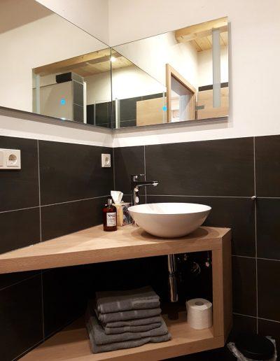 Badezimmer Apartment Stier