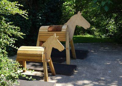 Holzpferde